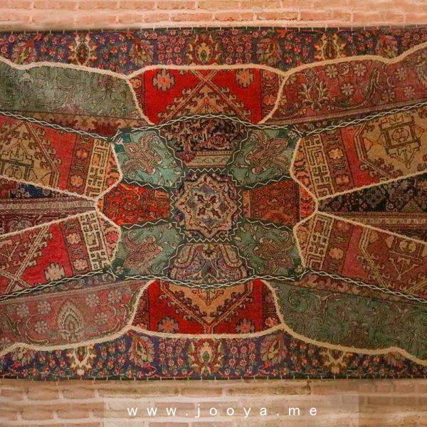 فرش و قالی دستبافت ایرانی ترنج