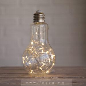 لامپ شیشهای تزیینی