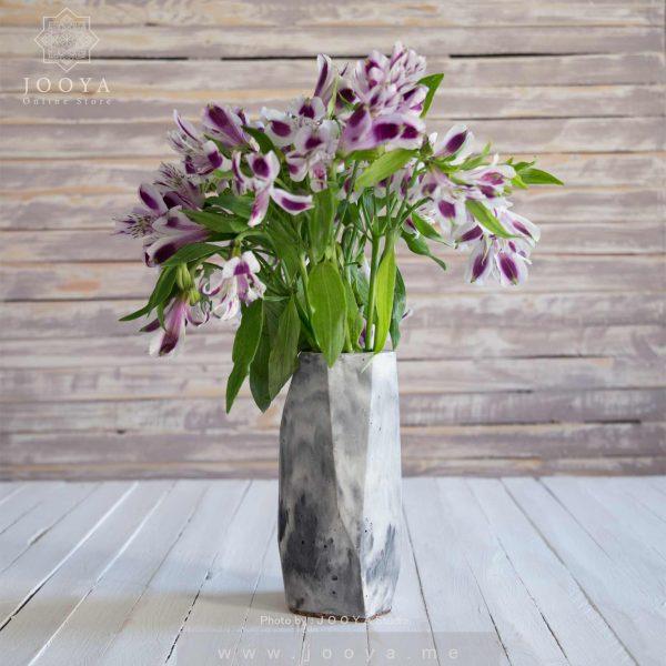 گلدان بتنی ارکید