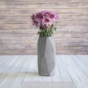 گلدان بتنی آسا