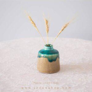 گلدان مینیاتوری آبی