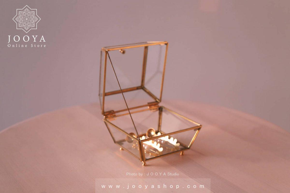 جعبه جای جواهرات دستساز