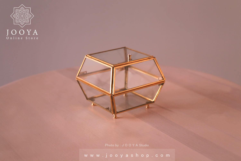 جعبه جواهرات شیشهای