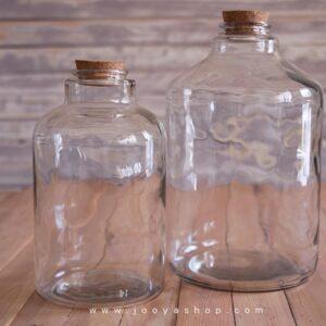 بطری شیشه ای آمازون