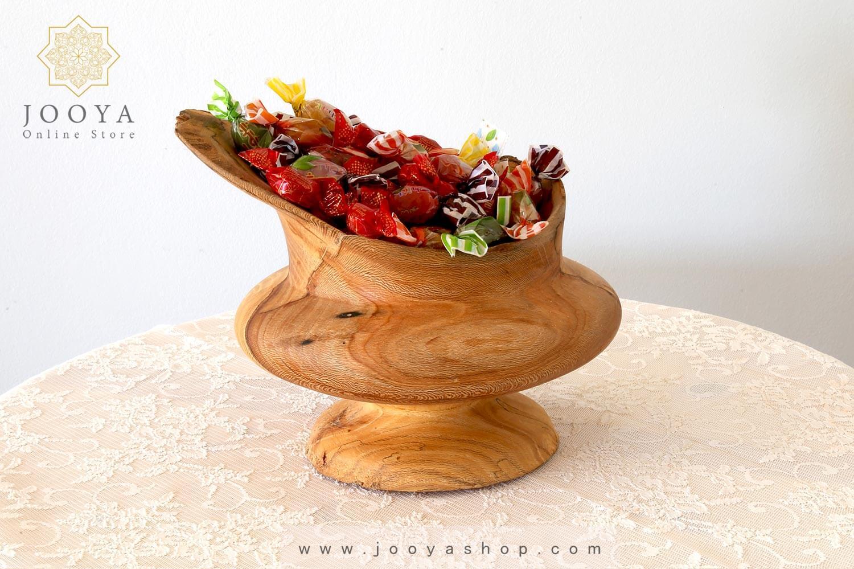 آجیلخوری چوبی مدل هیلا