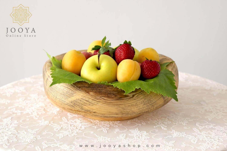 میوهخوری چوبی کاج