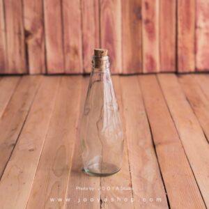 بطری شیشه ای خمره ای
