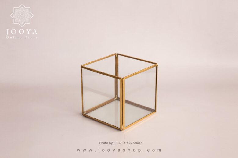 جعبه شیشه ای هامون سایز متوسط
