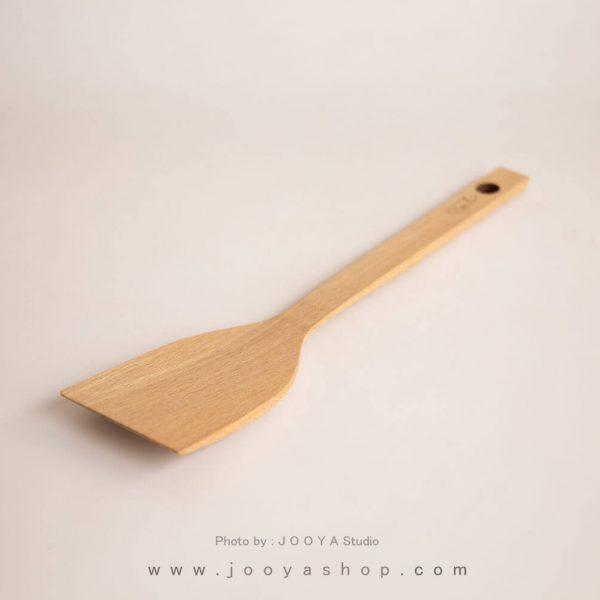 کفگیر چوبی تخت