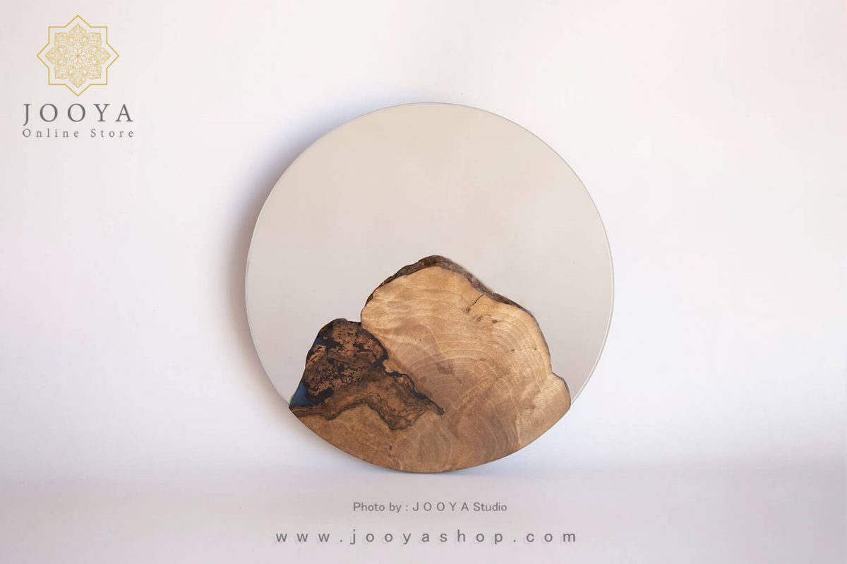 آینه طرح صخره