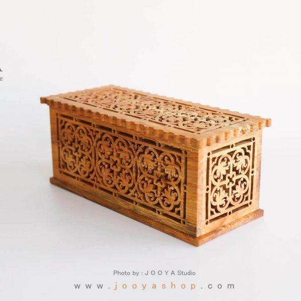 جعبه چوبی پروانه