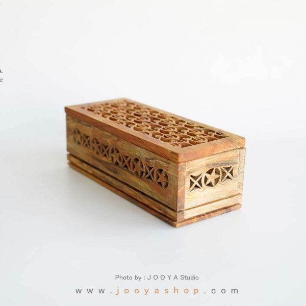 جعبه چوبی شاپرک