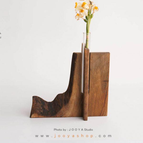 گلدان روستیک موج