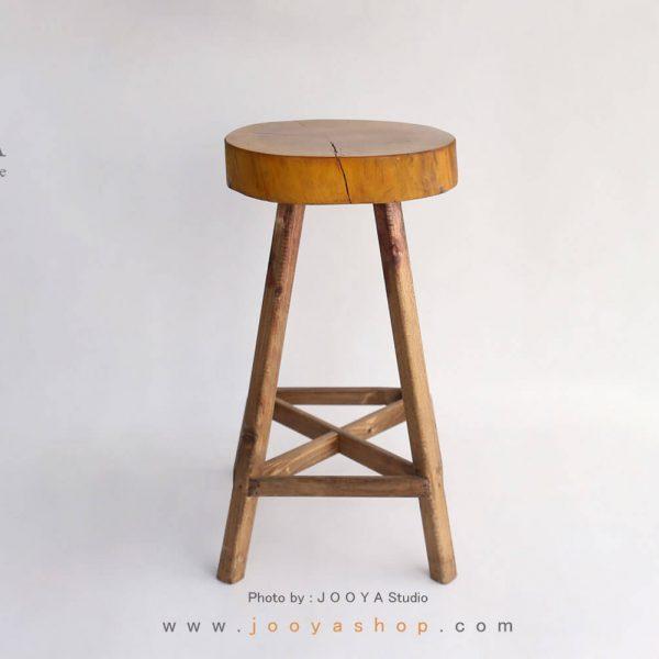 چهارپایه چوبی آرون