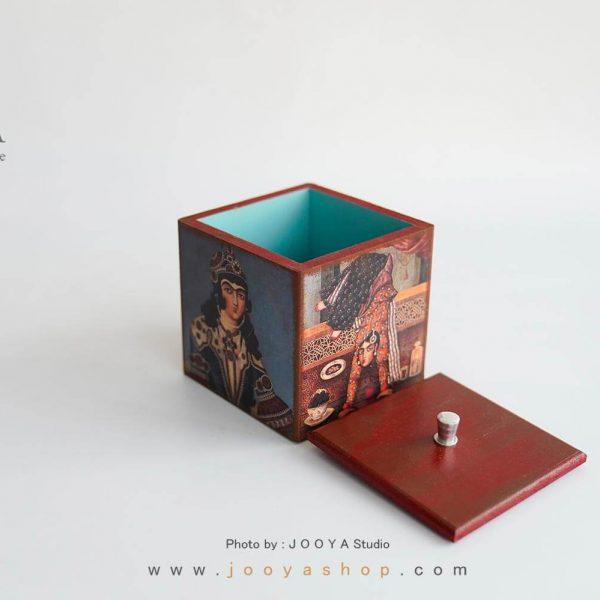باکس چوبی دربدار طرح دَربار