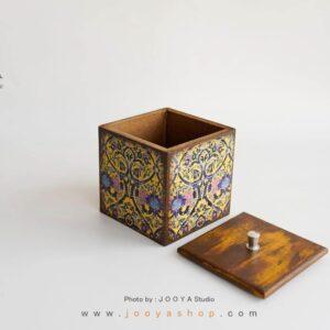 باکس چوبی دربدار طرح حوضنقاشی