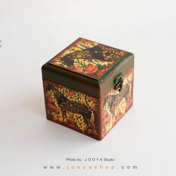 جعبه کوچک چوبی طرح بهشت
