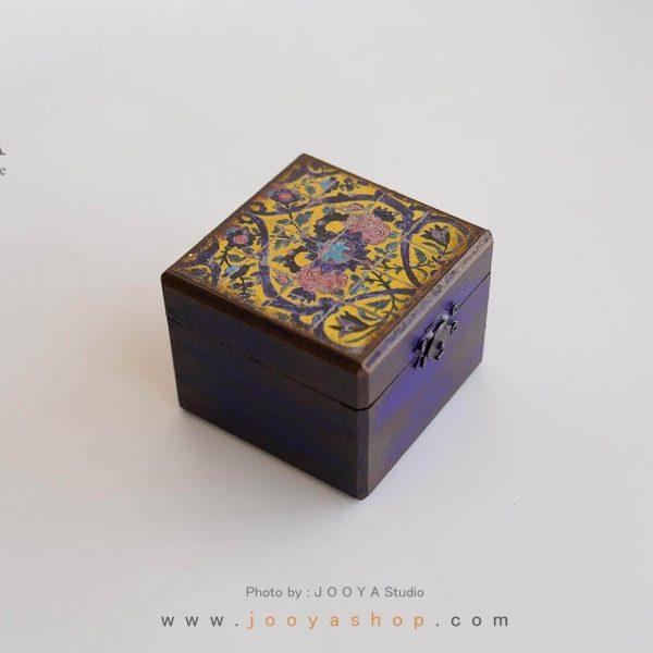 جعبه کوچک چوبی طرح نِگاره