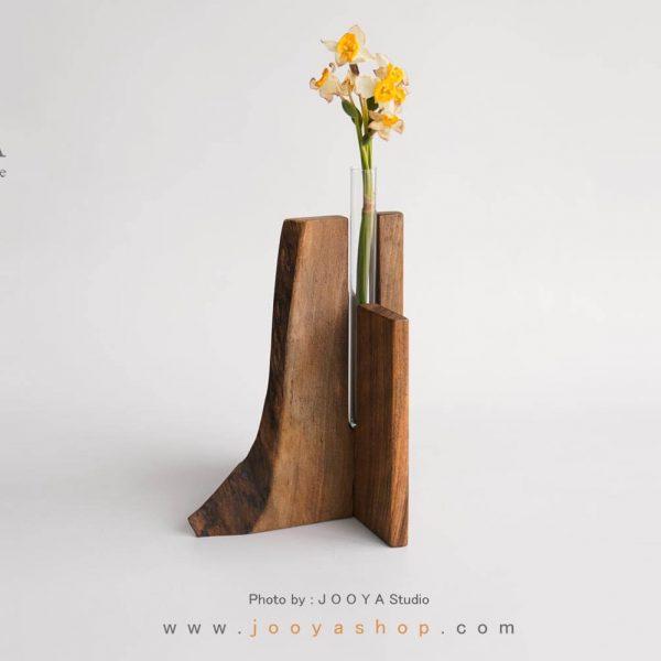 گلدان روستیک گردو