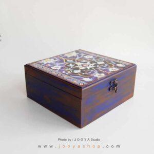 جعبه چوبی طرح حوضنقاشی سایز بزرگ