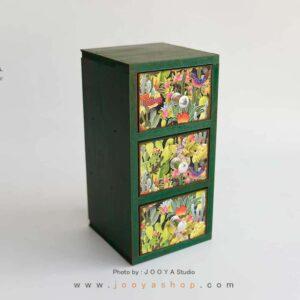 شلف رومیزی طرح کاکتوس سایز کوچک