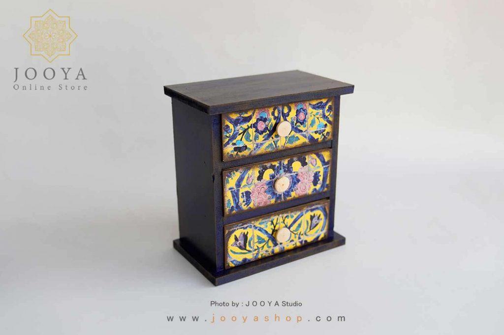 شلف رومیزی طرح حوض نقاشی سایز متوسط