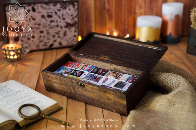 جعبه کبریت ۳۰ عددی طرح ماشین قدیمی