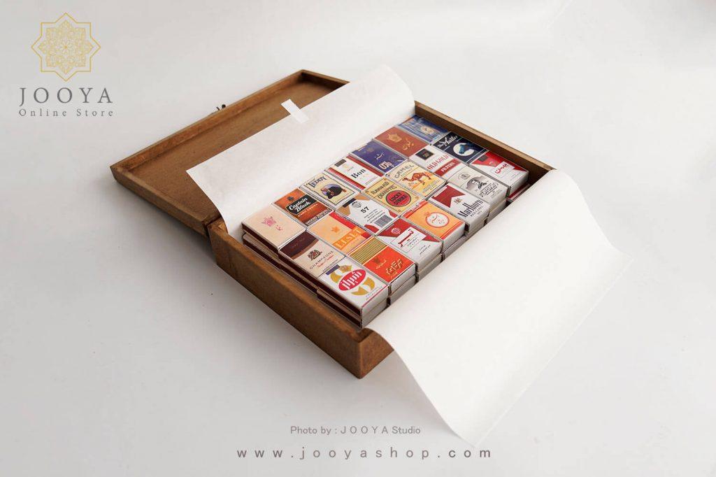 جعبه کبریت ۴۰ عددی طرح سیگار