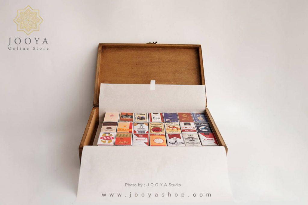 باکس ۴۰ عددی کبریت طرح سیگار