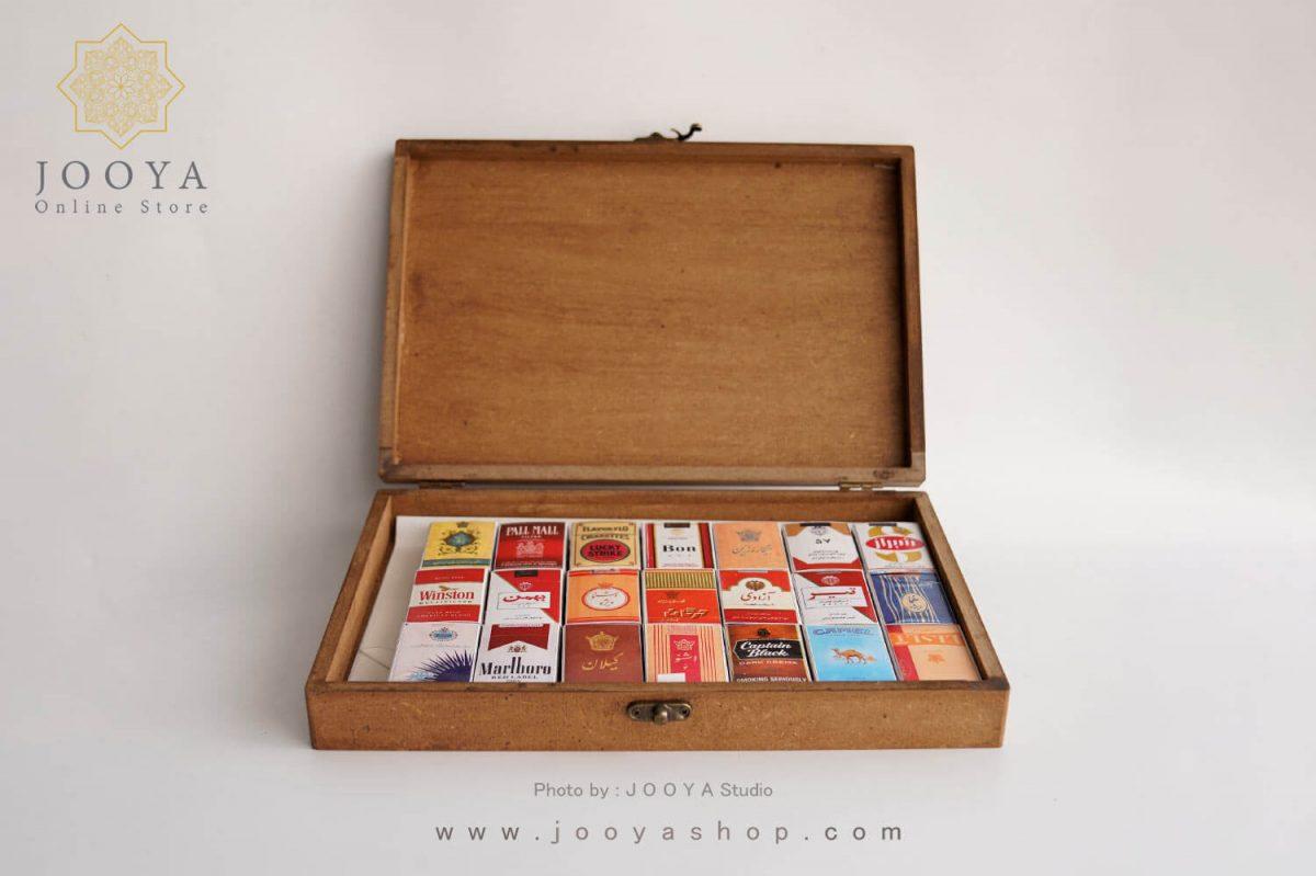 جعبه کبریت ۲۰ عددی طرح سیگار