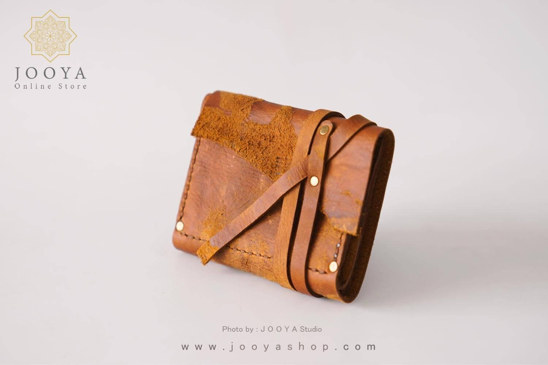 کیف پول چرم وینتج سایز کوچک