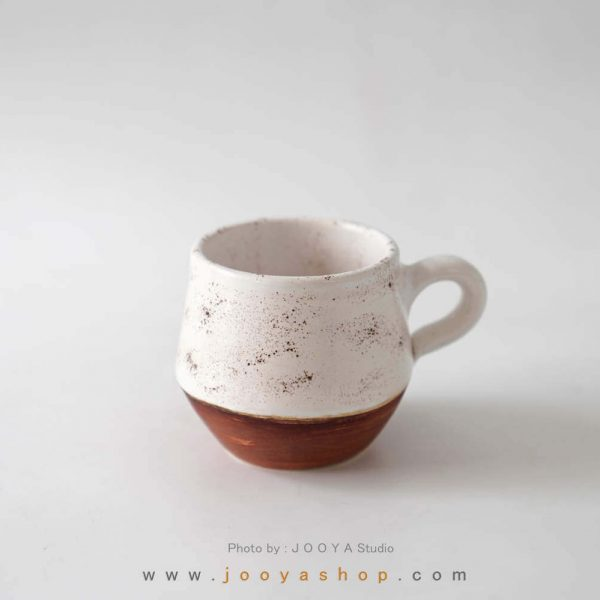 فنجان سرامیکی سفید