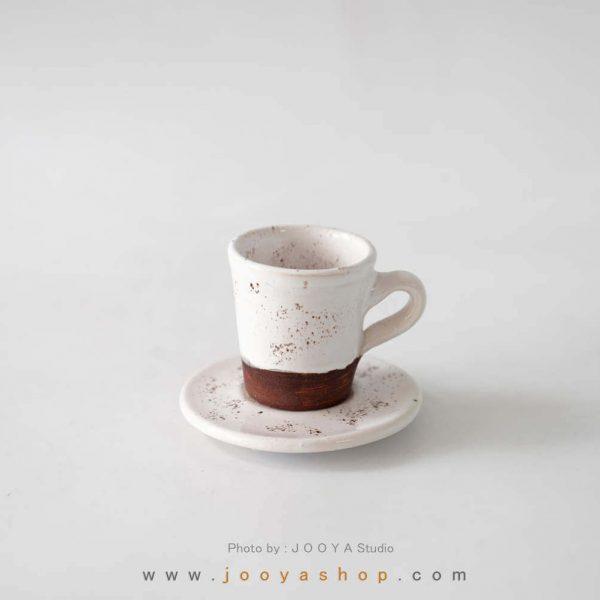 فنجان قهوه خوری سفید
