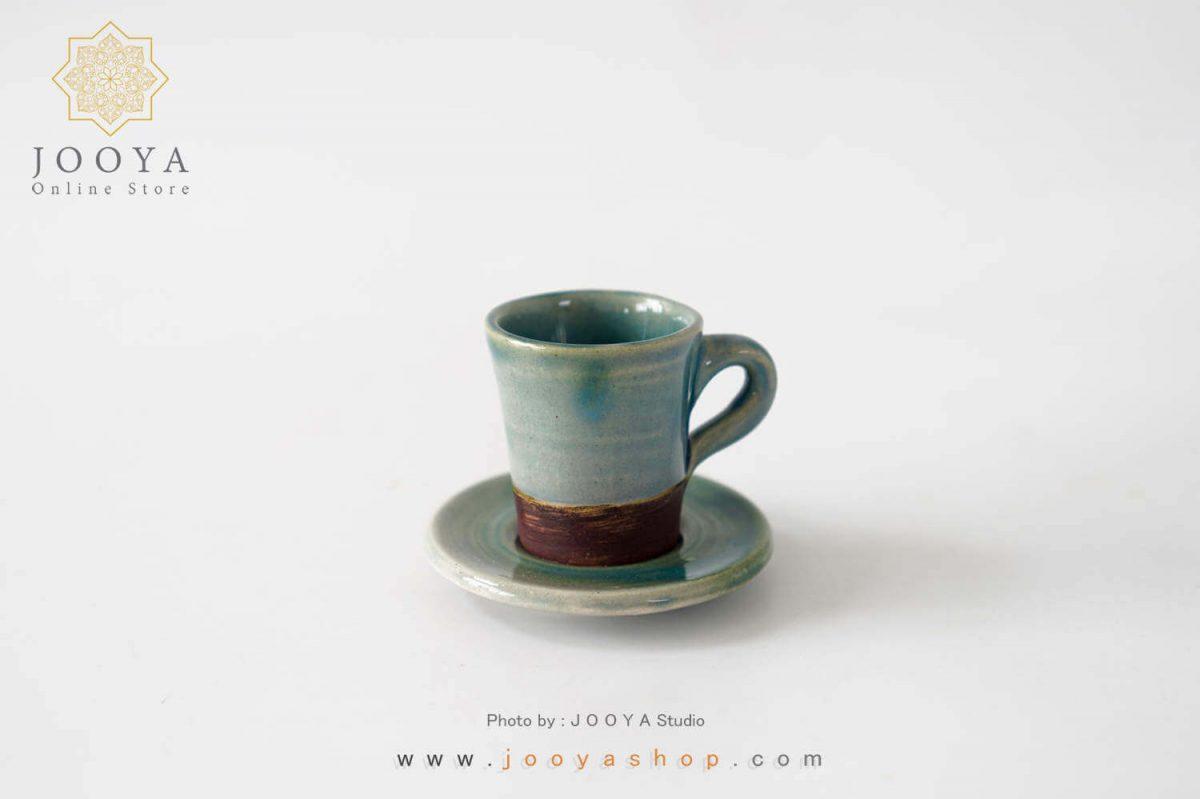 فنجان قهوه خوری یشمی