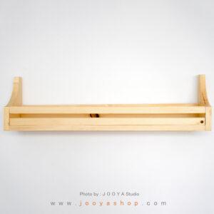 شلف چوبی هور رنگ چوب