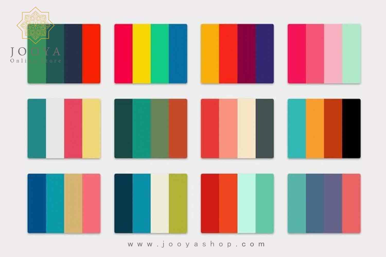 پالت رنگی استوایی