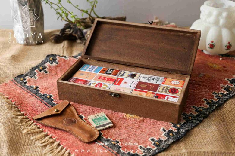 جعبه کبریت ۳۰ عددی طرح سیگار