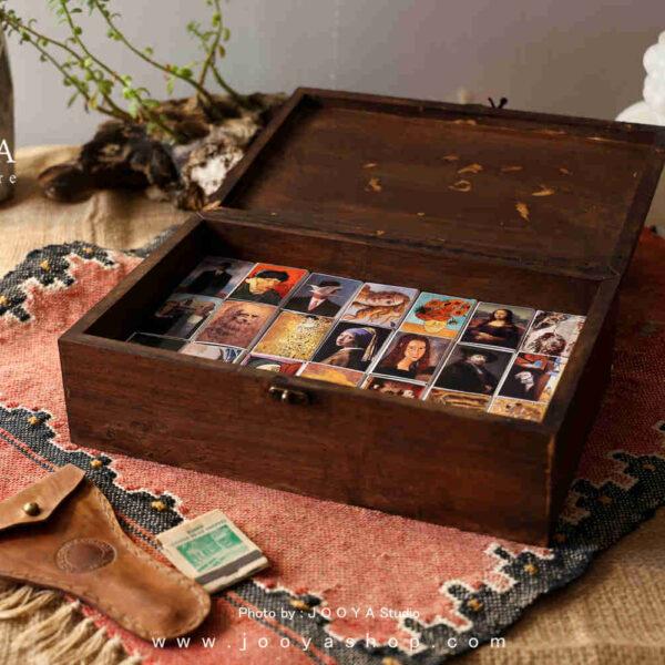 جعبه کبریت ۴۰ عددی طرح نقاشی