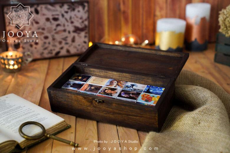 جعبه کبریت 3۰ عددی طرح نقاشی