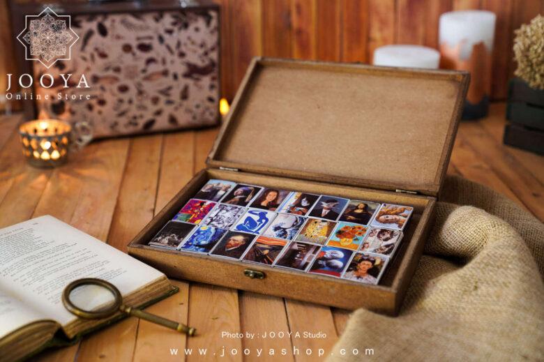 جعبه کبریت ۲۵ عددی طرح نقاشی