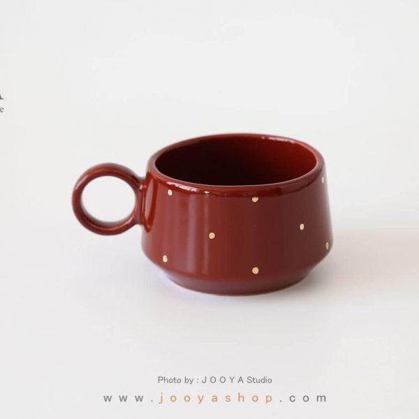 فنجان سرامیکی طرح دِلبر