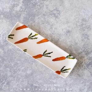 رولت خوری سرامیکی طرح هویج