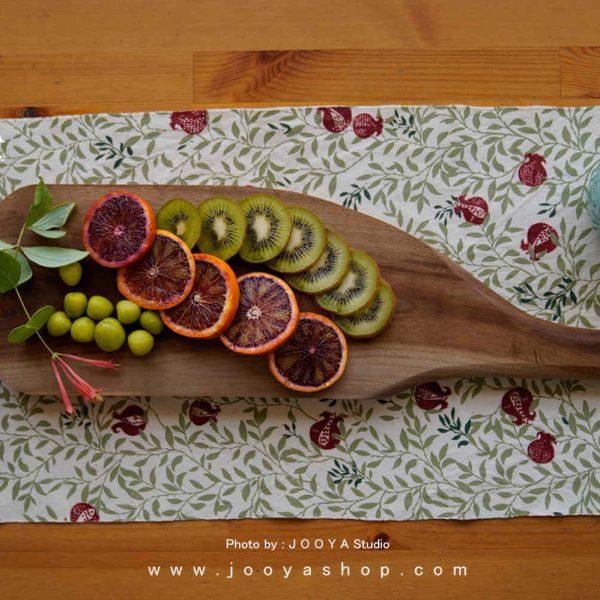 تخته سرو غذا چوبی