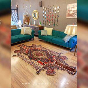 قالیچه تکه دوزی سعدآباد