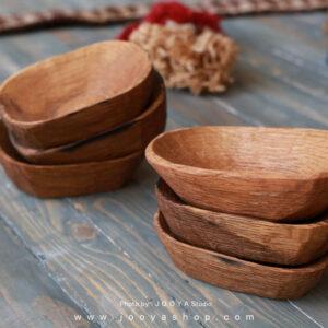 کاسه چوبی مستطیل