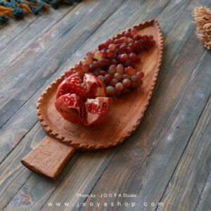 سینی چوبی سرو
