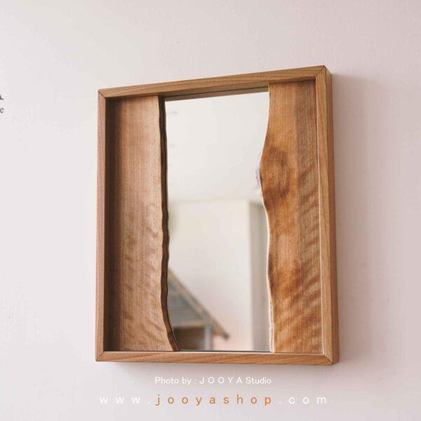 آینه قاب چوبی