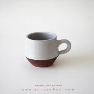 فنجان سرامیکی طوسی