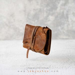 کیف پول چرم کوچک کاج