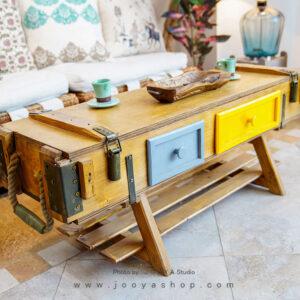 میز جلو مبلی وینتیج